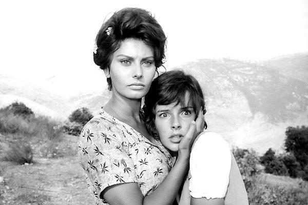 Sophia Loren az Egy asszony meg a lánya című filmben