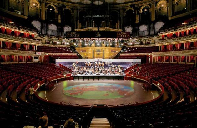 A BBC Proms színpadán (Fotó: Kurcsák István)