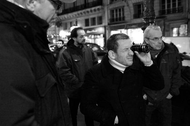Dany Boon a forgatáson (Fotó: filmstarts.de)