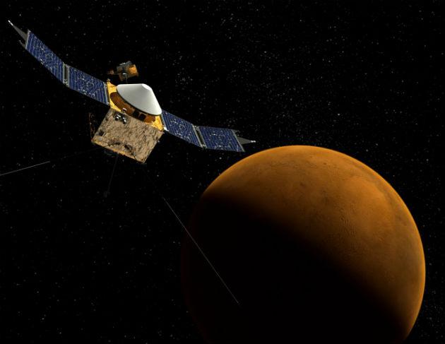 Fotó: MAVEN (hirado.hu/NASA's Goddard Űrrepülési Központ)