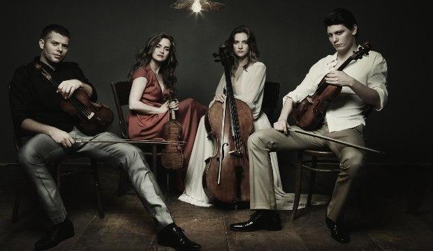 Kelemen-kvartett - Kokas Dóra jobbról a második