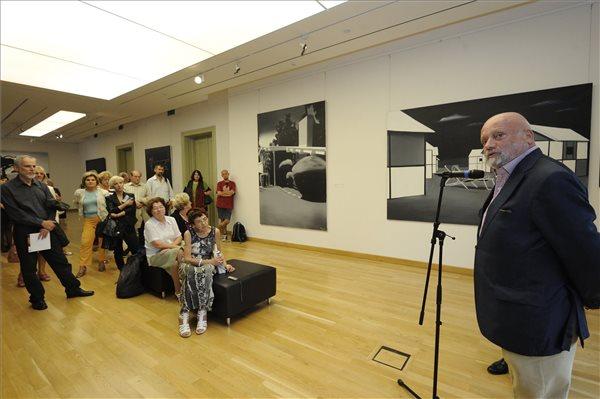 Viktor Meshikoff műgyűjtő a kiállításmegnyitón (MTI Fotó: Kelemen Zoltán Gergely)