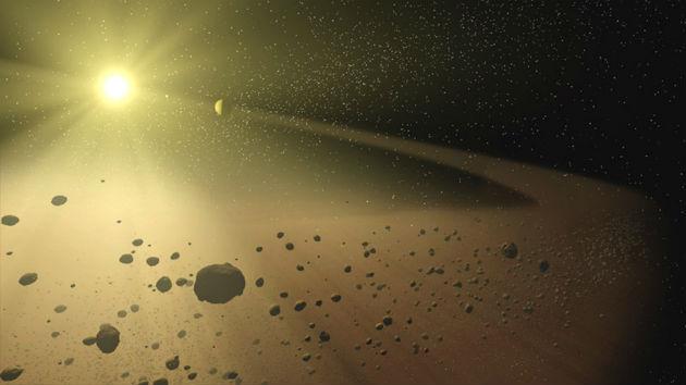 Aszteroidaöv (Fotó: hirado.hu/NASA/JPL-Caltech)