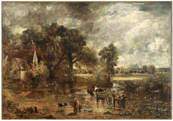 John Constable: The Hay Wain (fotó: vam.ac.uk)