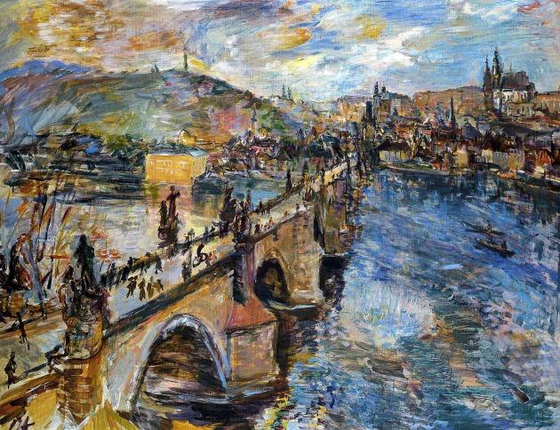 Oskar Kokoschka: Károly híd