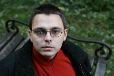 Dragomán György (Fotó: revizoronline.com)