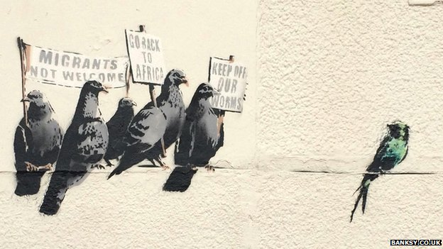fotó: banksy.co.uk