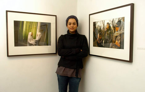 Newsha Tavakolian (Fotó: mutanteggplant.com)