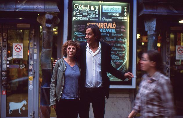 Sabine Boss és Pedro Lenz - a szerző fotója