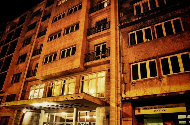 Az SZFE Vas utcai bejárata (Fotó: Tóth Simon Ferenc/filmacademy.hu)