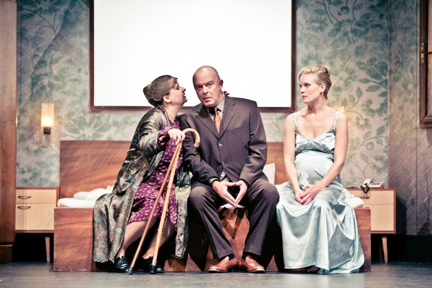 Nora Rainer-Micsinyei, Stefan Suske, Evi Kehrstephan (Fotó: Lupi Spuma)