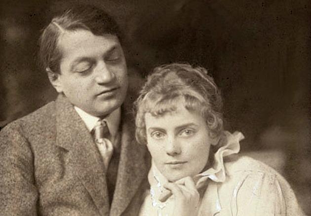 Ady Endre és Boncza Berta - Csinszka, 1915 (Fotó: Székely Aladár/PIM)