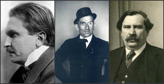 Gyóni Géza, Tersánszky Józsi Jenő és Móricz Zsigmond (Fotó: mult-kor.hu)