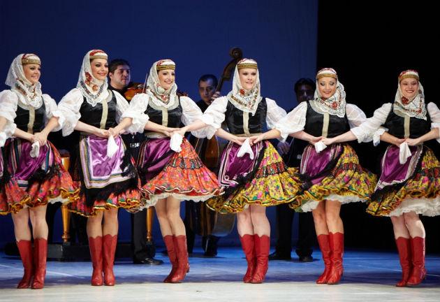 Magyar Állami Népi Együttes(Fotó: Hagyományok Háza)