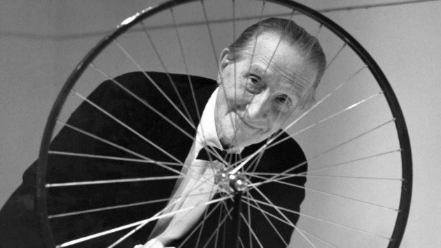 Marcel Duchamp (Fotó: artfiltered.com)