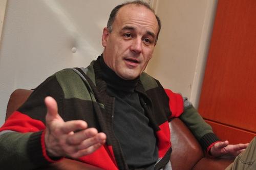 Seress Zoltán, a Bárka igazgatója (Fotó: epresso.hu)