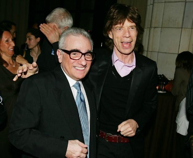 Martin Scorsese és Mick Jagger (Fotó: pursuitist.com)