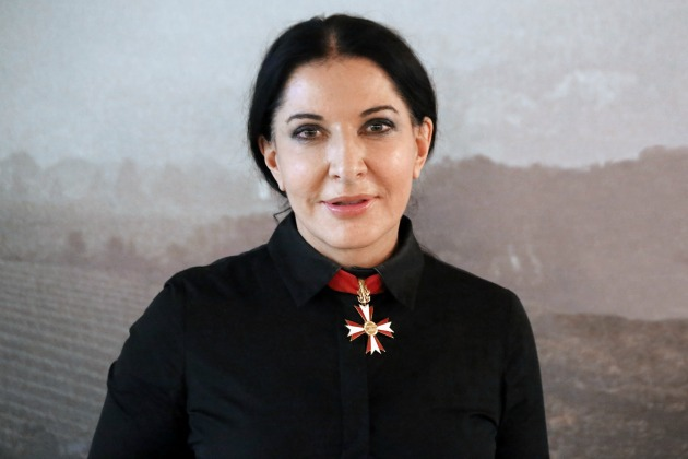 Marina Abramoviæ (Fotó: en.wikipedia.org)