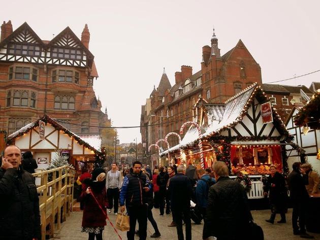 Karácsonyi vásár Nottinghamben (Fotó: crosscultie.blogspot.com)