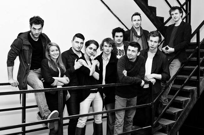 A k2 Színház társulata (Fotó: 7ora7.hu)