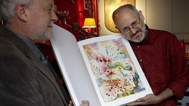 A könyv kiadói: Ricard Mas és Francesc Boada (Fotó: abc.es)