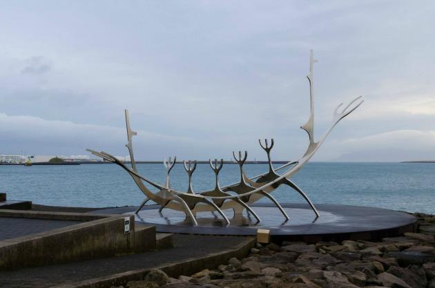 Viking emlékmű Reykjavíkban (Fotó: Mustafa Cem Koèan)