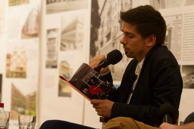 Garázsmenet könyvbemutatóján (Fotó: Nagy Dániel)