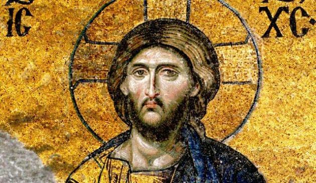 Mozaik Jézus Krisztusról (Fotó: Wikimedia Commons)