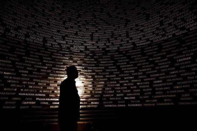 A Cunami Múzeum Banda Acehben. Fotó: Hirado.hu/EPA/Hotli Simanjunta