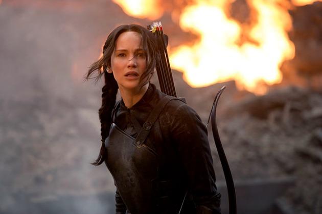Jennifer Lawrence Az éhezők viadalában (Fotó: popcornandsoda.hu)