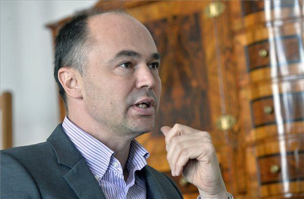 Sághi Attila, a Forster Gyula Nemzeti Örökségvédelmi és Vagyongazdálkodási Központ elnöke (MTI Fotó: Máthé Zoltán)