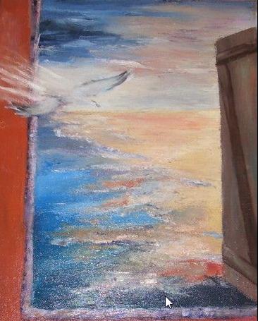 Alexa Freedom című festménye
