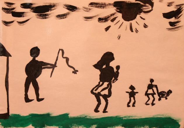 Sokkoló gyerekrajz (Forrás: img.444.hu)