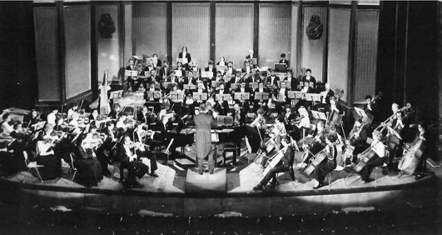 A Szegedi Szimfonikus Zenekar, 1985. okt. 30. (Vezényelt: Oberfrank Géza)