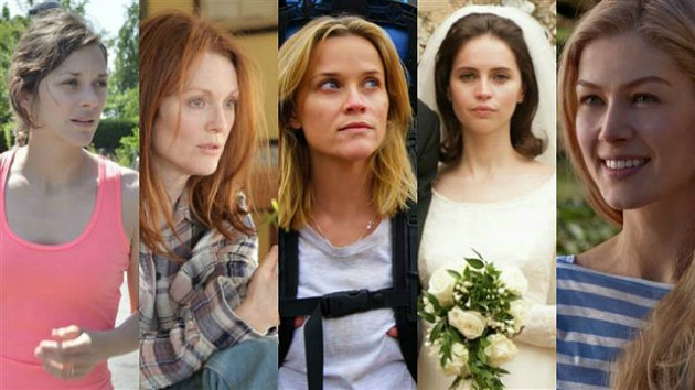 Marion Cotillard, Julianne Moore, Reese Witherspoon, Felicity Jones, Rosamund Pike (Forrás: bykoket.com)