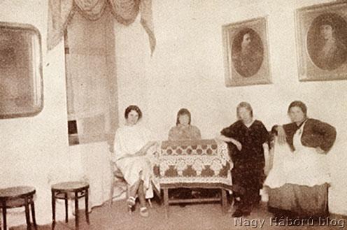 Tábori bordély szalonja, Belgrád (Forrás: Nagy Háború blog)
