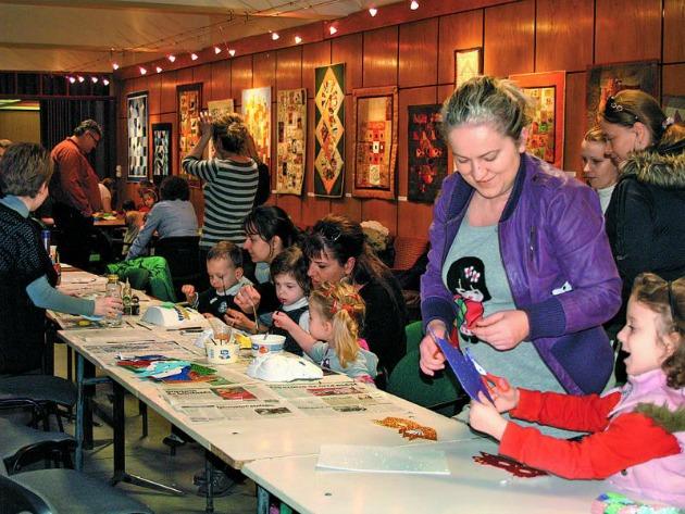 Tavaly Kisvárdán kézműves foglalkozások várták a gyerekeket (Fotó: Vincze Péter)
