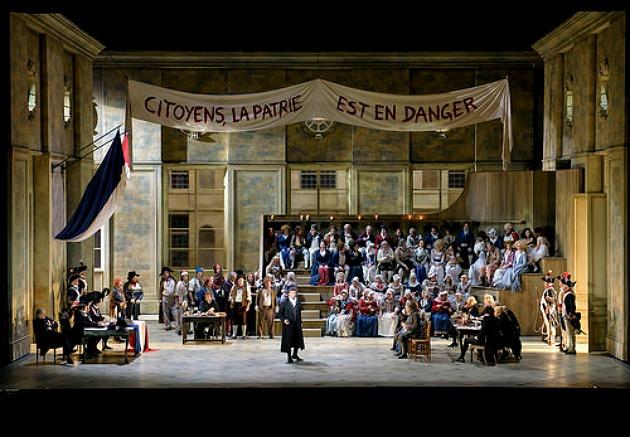 Andrea Chénier, The Royal Opera © ROH, 2015. (Fotó: Bill Cooper)