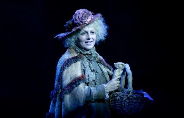 Várady Viktória a Mary Poppinsban (Fotó: Madách Színház)