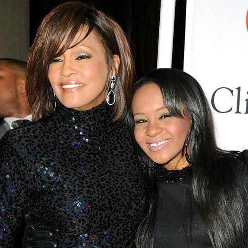Whitney Houston és Bobbi Kristina Brown (Fotó: zap2it.com)