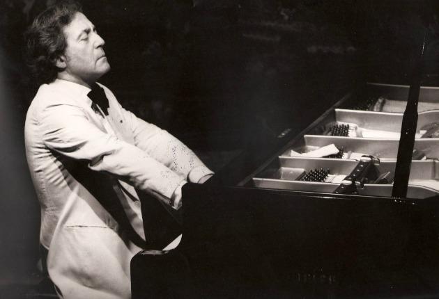 Aldo Ciccolini 1982-ben (Fotó: festivalnohant.com)