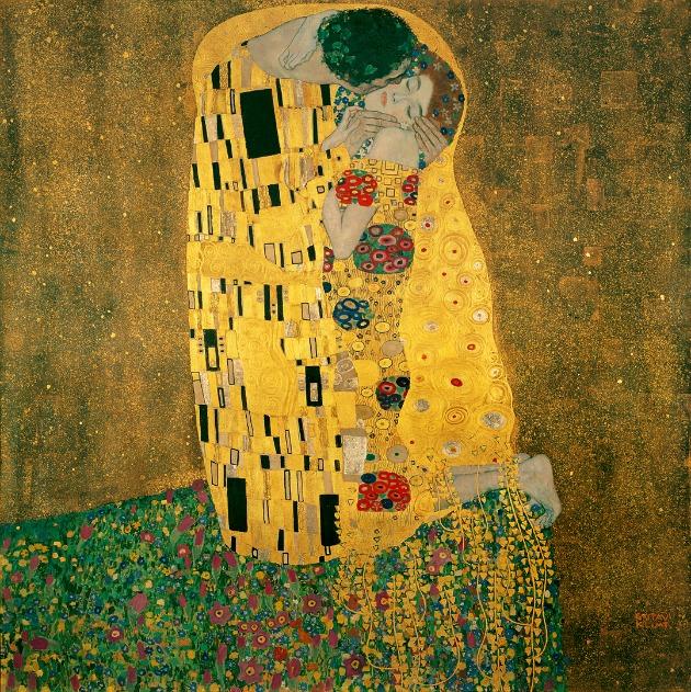Gustav Klimt: A csók, 1908