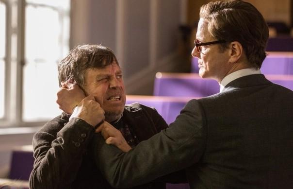 Hamill és Colin Firth a Kingsman: A titkos szolgálat című filmben (fotó: moviefanatic.com)