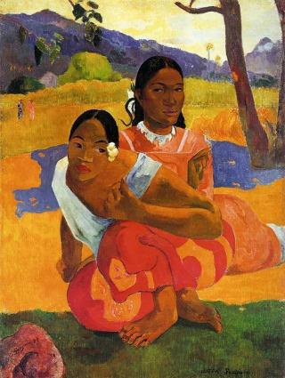 Paul Gauguin: Nafea (más néven: Mikor házasodsz meg?), 1892, a Credit Artothek/Associated Press jóvoltából