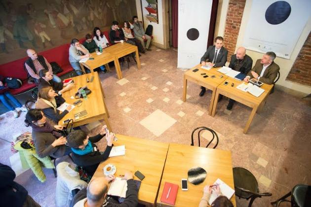 REFLEX Nemzetközi Színházi Fesztivál sajtótájékoztatója (Fotó: Vargyasi Levente)