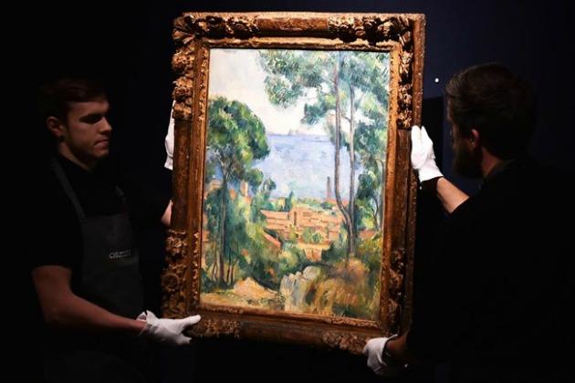 Paul Cézanne: Trees (Fotó: Europress/Hír24)