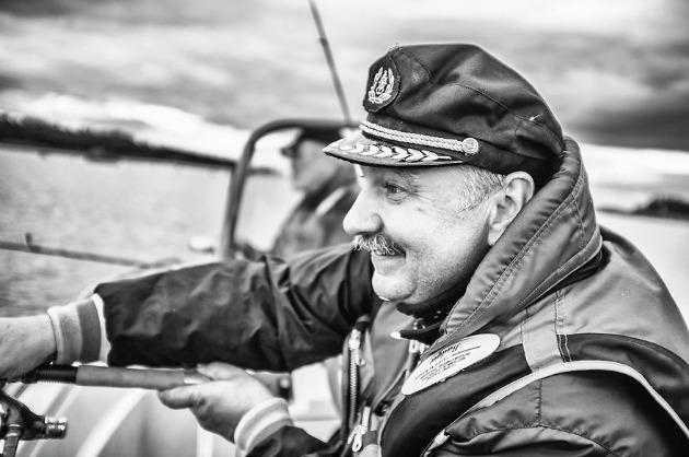 57 éves Szergej - Imádom a zenét és szeretek horgászni (Fotó: Keen Heick-Abildhauge)