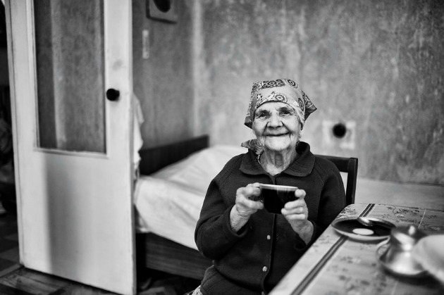 100 éves Evdokiya - Arról álmodom, hogy magamtól tudok sétálni, független vagyok és élek (Fotó: Keen Heick-Abildhauge)
