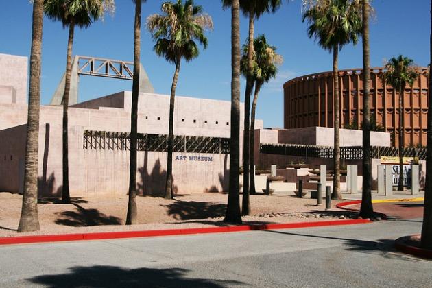 ASU Művészeti Múzeum - itt helyezték el a kamerát (Fotó: petapixel.com)