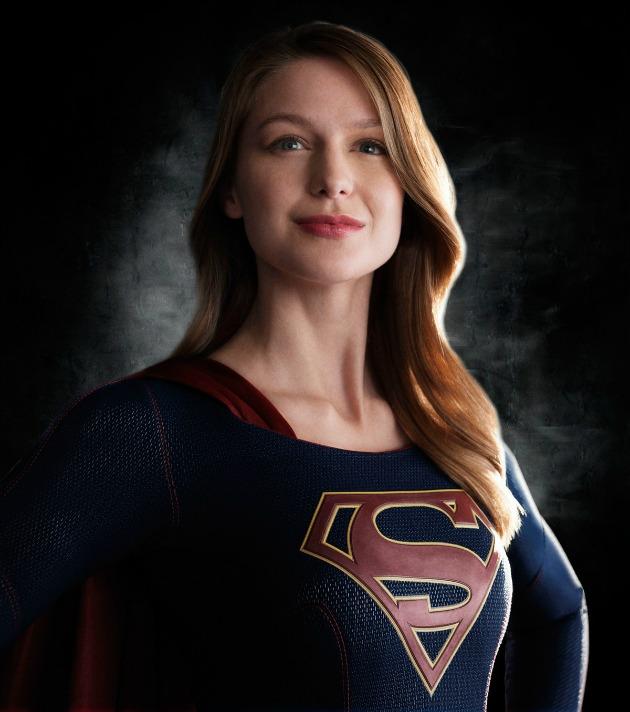 Melissa Benois, a Supergirl (Fotó: mashable.com)